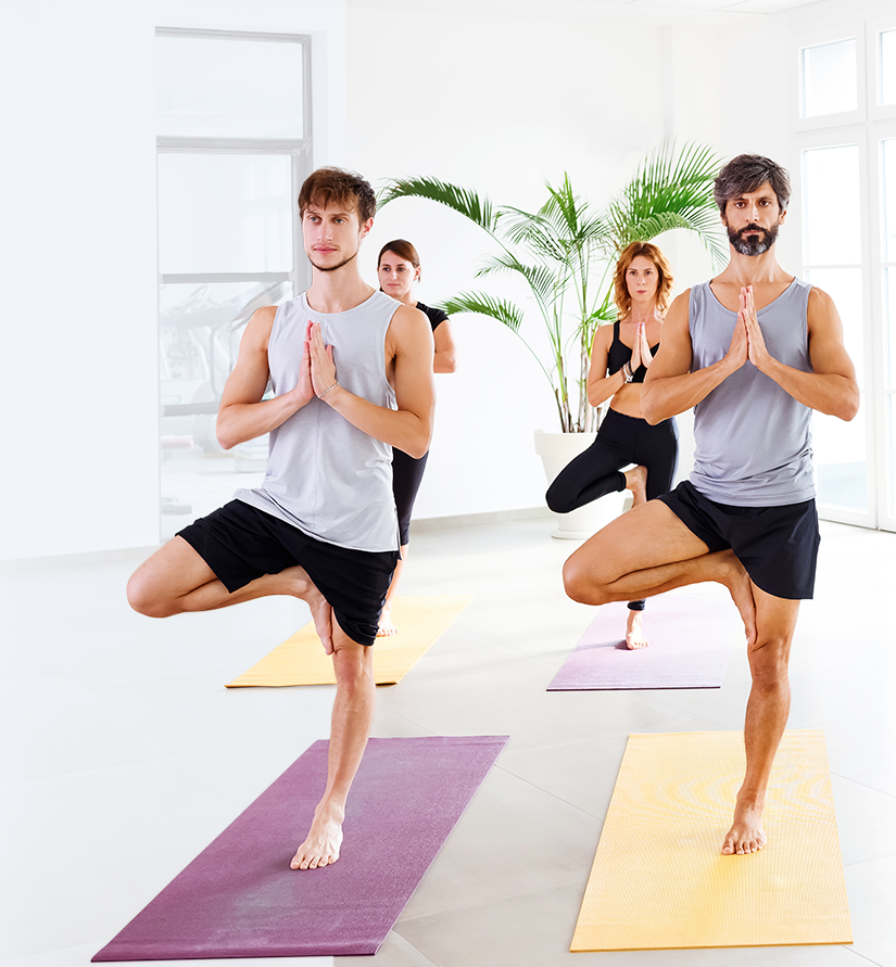 back pain guide - yoga class
