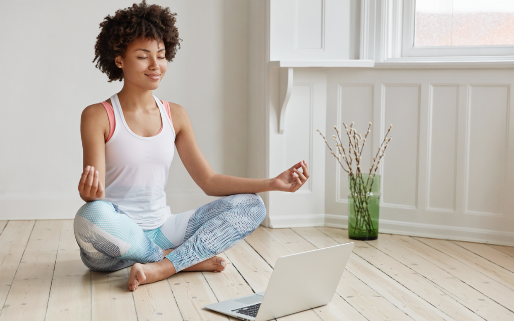 yoga practitioner back pain guide